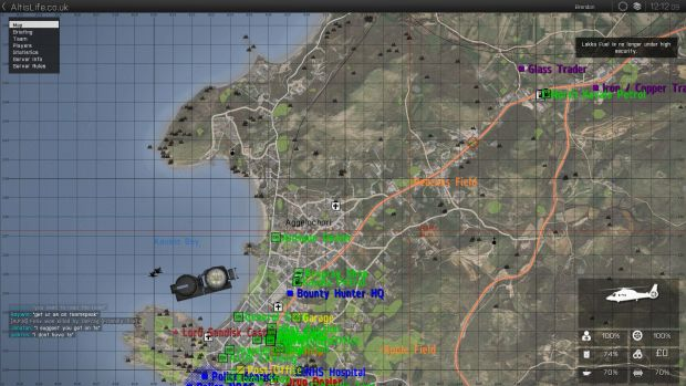 A resizing of a screenshot of a map of a bit of Altis
