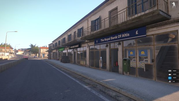 The main street in Kavala. Obviously, the economy is no better than actual factual Greece.