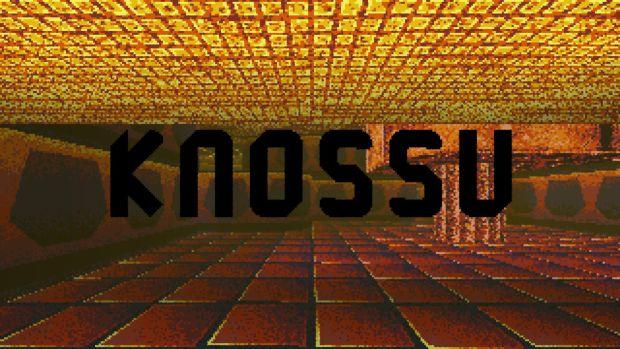 Knossu is Greek for 'what'