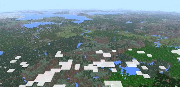 Far Lands: Minecraft's Almighty 4K Render Distance