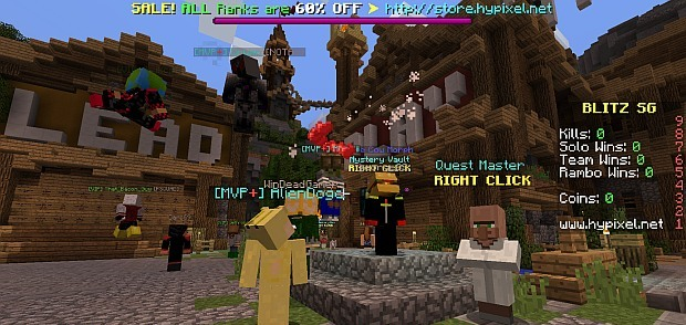 Hypixel's hub speaks to its sophisticated approach to getting players committed, displaying stats and giving lots of ways of showing off both real and virtual money spending.