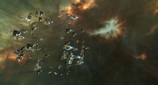 A tiny fleet wandering around