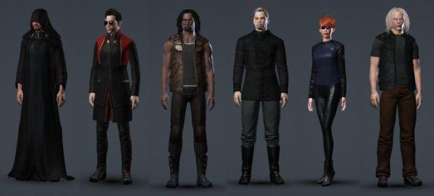 From left to right: progodlegend, Eep Eep, Lenny Kravitz2, The Mittani, Widget Zombie and Binary Zombie