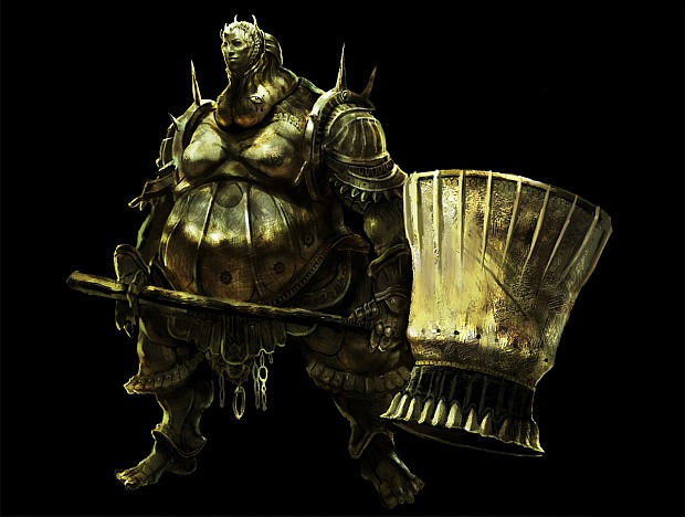 After killing Aldrich, the helmet of Smough, executioner boss from Dark Souls 1, becomes available to buy from the merchant at Firelink Shrine. Smough was himself a cannibal, grinding the bones of his victims into his feed.