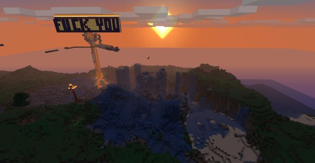 Ridealong: The Ruin Of Minecraft's Most Obscene Server | Rock Paper
