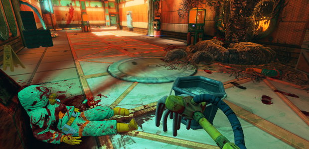 Viscera cleanup detail office door code