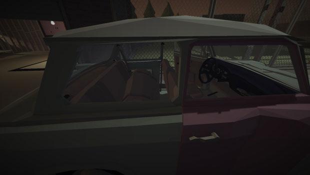Jalopy back seat