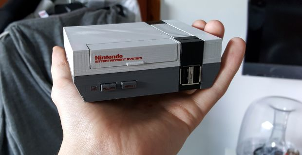 Man Makes Miniature NES Out Of Raspberry Pi And Beats Nintendo To The Punch