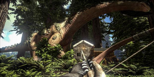 Ark update adds Titanosaur & Redwood Biome | Rock Paper Shotgun