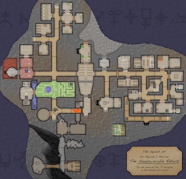 Hadean Lands Map