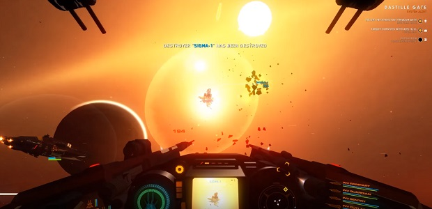 When A New Space Combat Simulator Looks As Handsome As House Of The Dying Sun Official Site That S Reason Enough To Raise An Intrigued Eyebrow