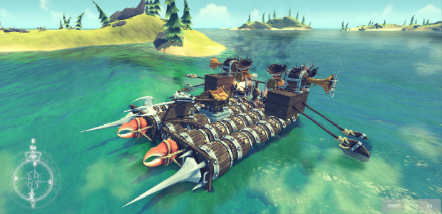 Ship Builder The Last Leviathan Docks At Early Access