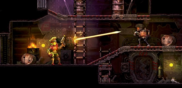 Turn-Based Robot Wars: SteamWorld Heist Out June 7th