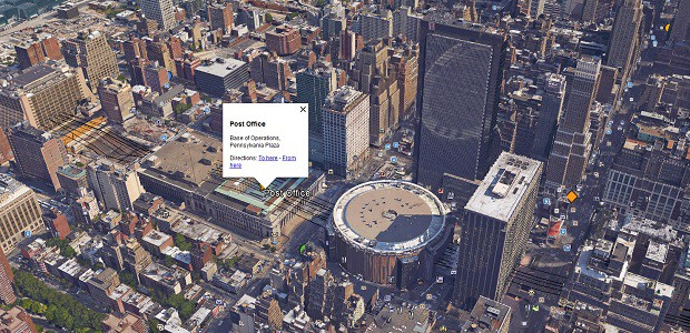 The Division's Locations Mapped Onto Actual NYC
