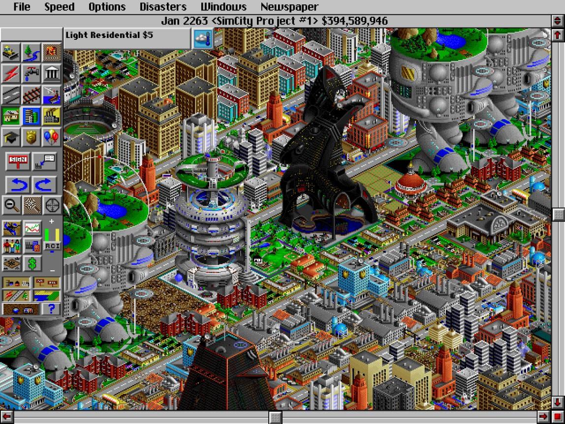 Resultado de imagen para SimCity 2000