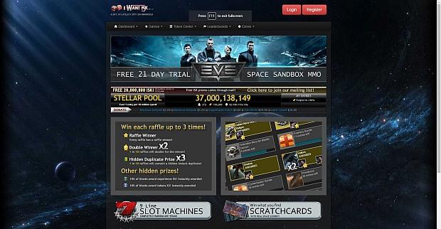 Eve gambling isk