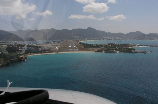 """Flying the MedCenter Air Citation to St. Maarten"""