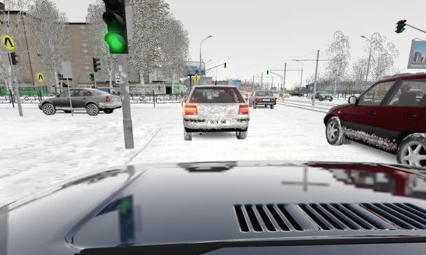 City Car Driving Plaza