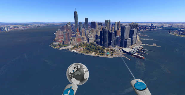 Google Earth VR is a Vive must-have, but...