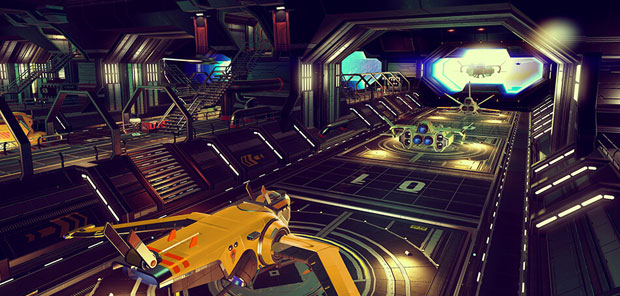 No Man's Sky Foundation freighters