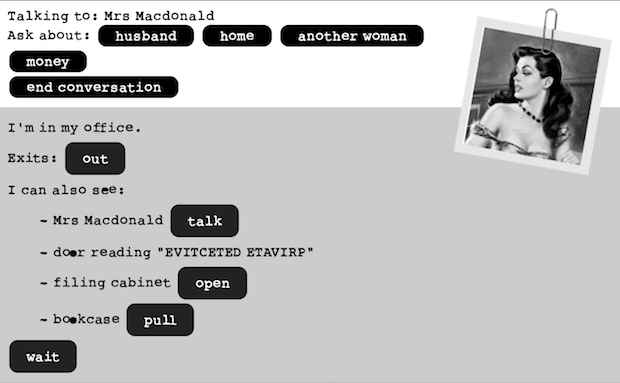 Screenshot for Detectiveland