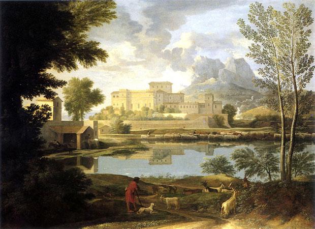 Nicolas Poussin - Paysage du temps calme