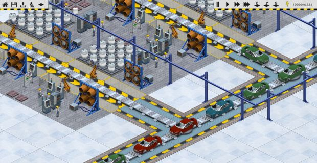 production line is democracy dev s new car factory sim