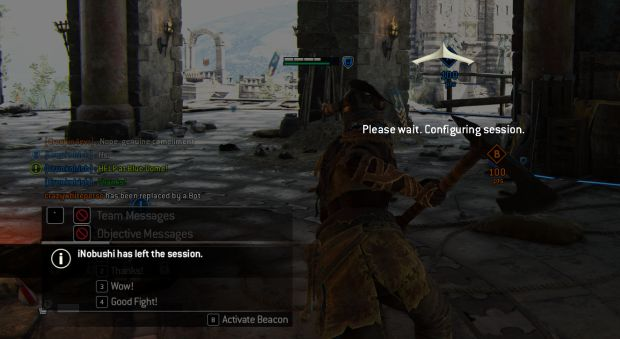 Matchmaking In For Honor Is Bad