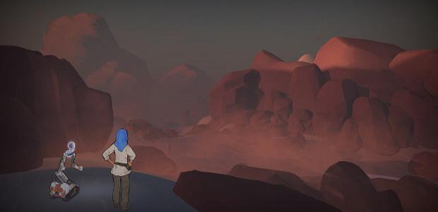 Screenshot from Heaven's Vault