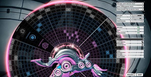 warframe octavia how to create music