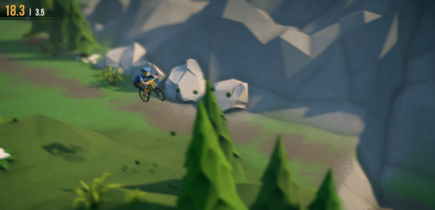 Lonely Mountains: Downhill header