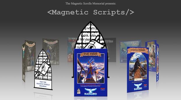 Magnetic Scripts website