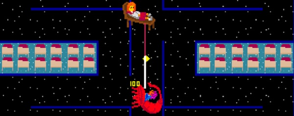 So Pac Man, the eternal hunt symbolises eternal greed for your father's riches, yes?