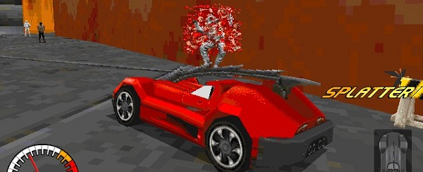 People in the world of Carmageddon seemed to be made of eyeballs.