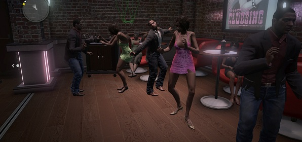 Frivolous clubbing indeed