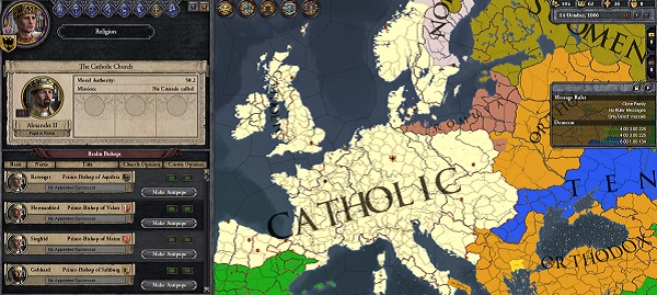 What? That's not enough land for you, The Catholic Faith?