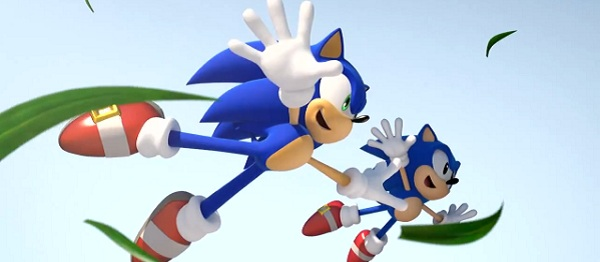 Sonic is the opposite of me, in that he has lost his beer belly with age and is a capable athlete