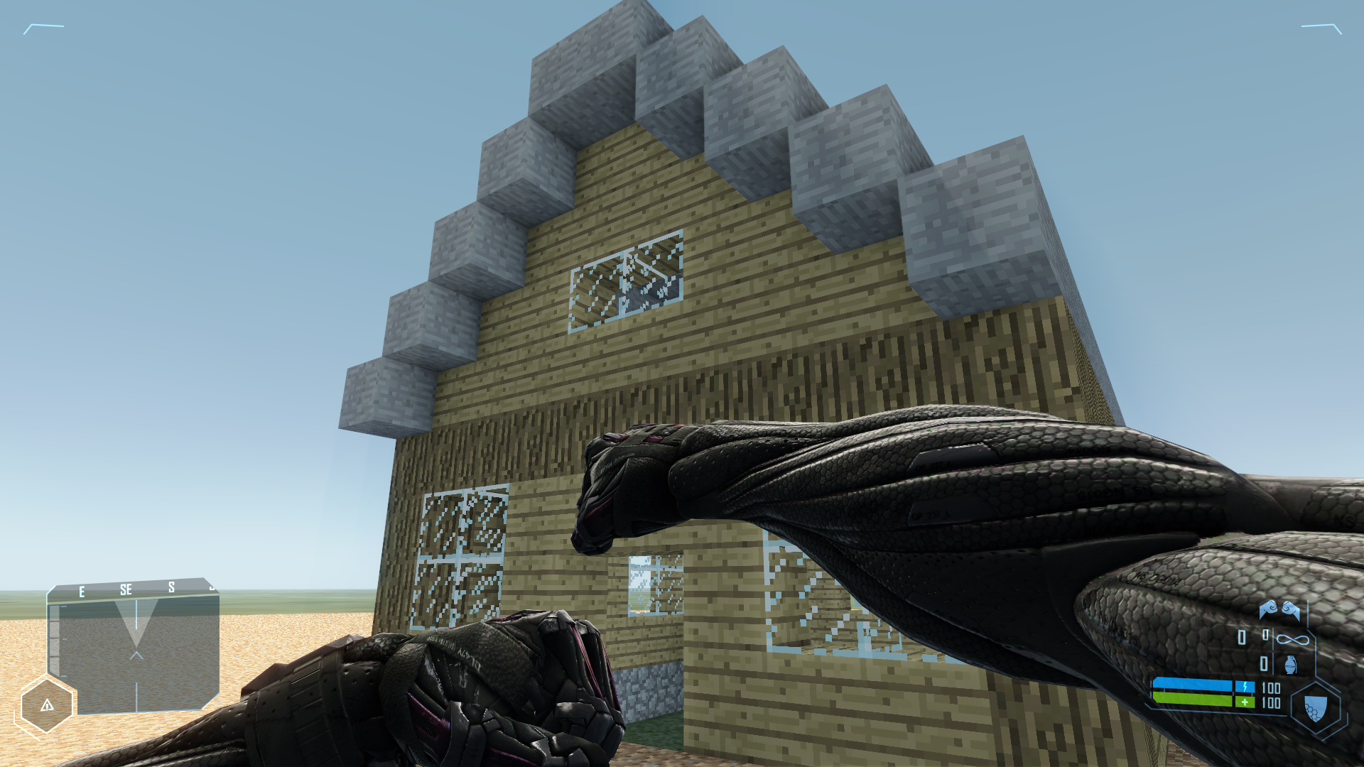 CryCraft: Mod Minecraft Into Crysis » crypunch