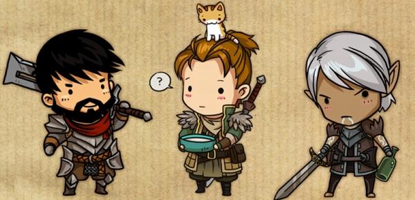 Dragon Age 2 guysby *sandara