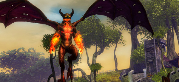 Sure, to you, I'm just another 200XP points. You don't even ask if I have hopes or dreams or a family or a little macrame shop. I don't, obviously, I'm a fire imp who just stands around here all day. But I might have been, and you'd never have known!