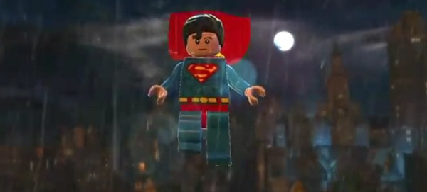 Superman in Batman weather