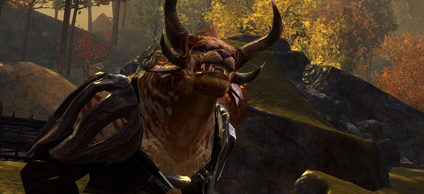 The Charr are one of five playable races. Don't call them constipated Kilrathi if you value your sofa.