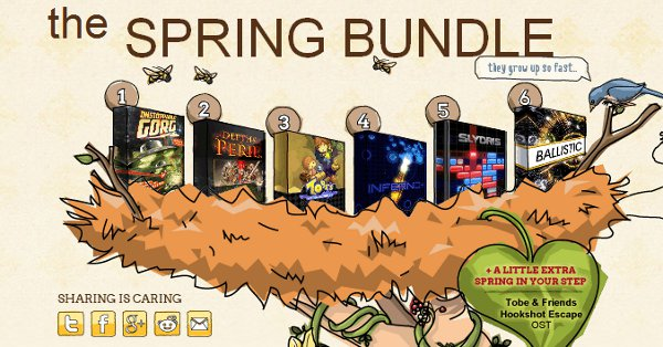 So that's where indie games come from.