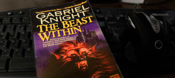 Pay $50 and you get e-books of the two Gabriel tie-in novels. But will they be yellowing and ink-splattered like my copy? They will not. (That is probably a Good Thing...)