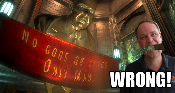 Totally worth redownloading all 5GB of Bioshock...