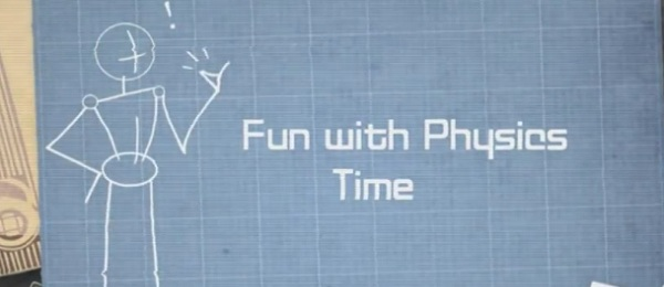 Not time for fun with physics but rather fun with the physics of time