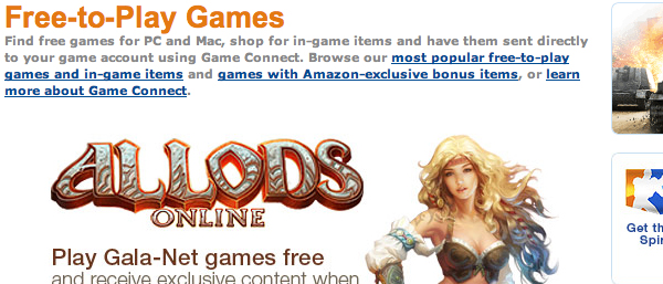 Oh, hey, a free to play service leading on a picture of a woman in a skimpy top. Didn't see that one coming at all.