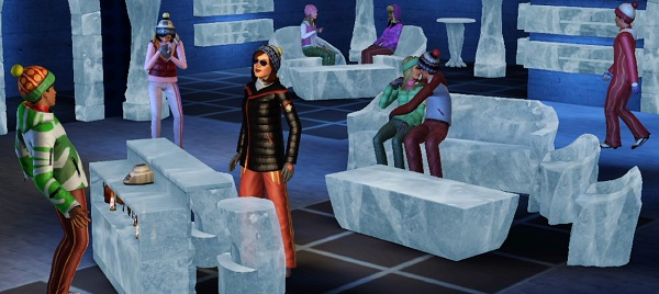 You have to preorder to play with this ice lounge, where posteriors go to die.