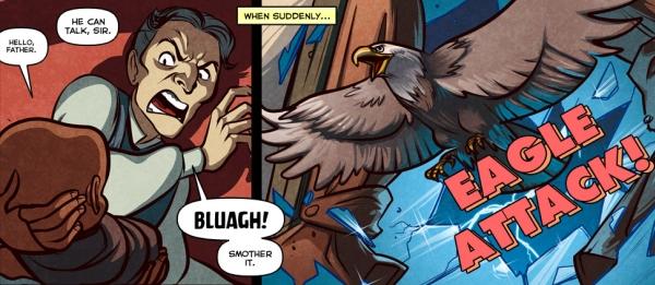 Damn eagles.