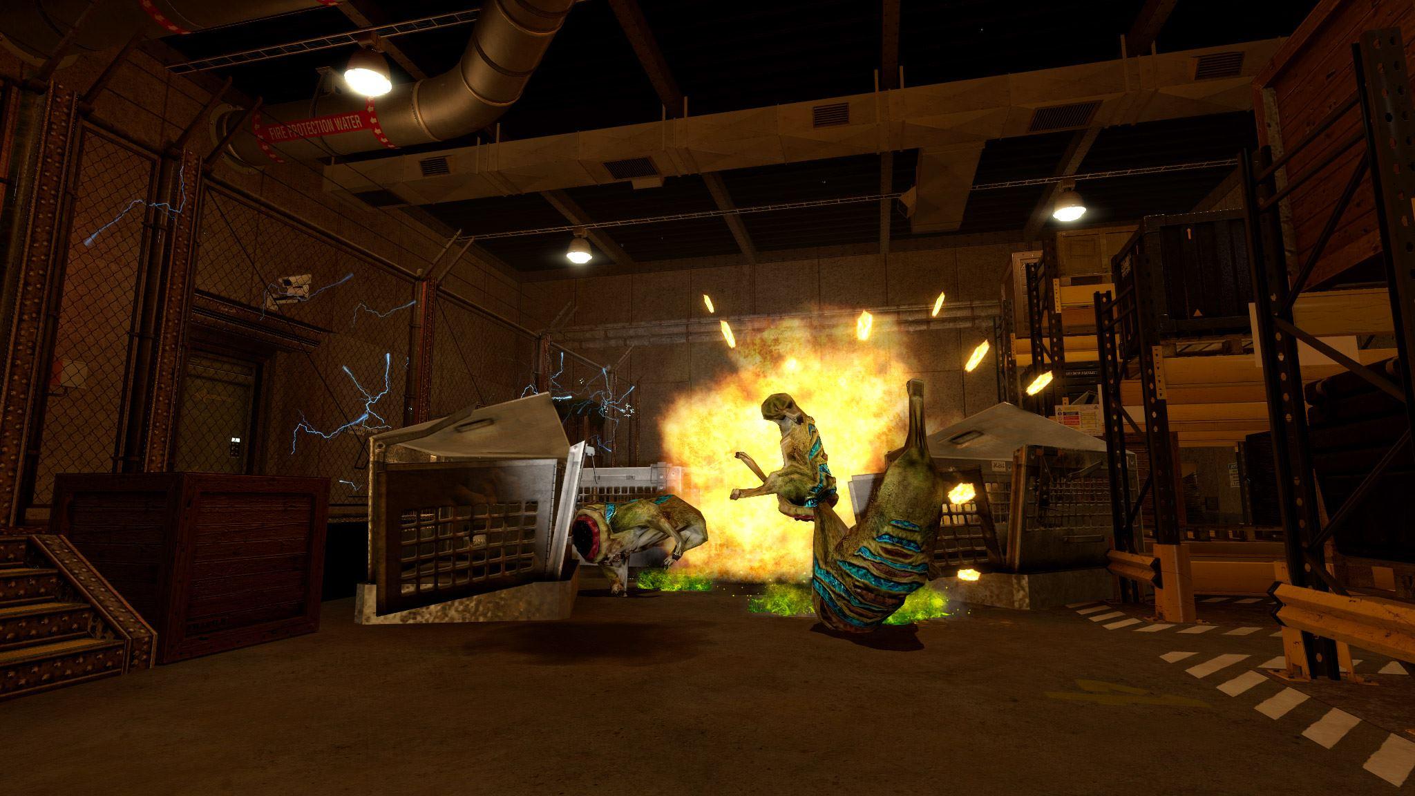 Powering Up Black Mesa Screenshots Rock Paper Shotgun